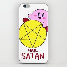 Hail Satan iPhone Skin