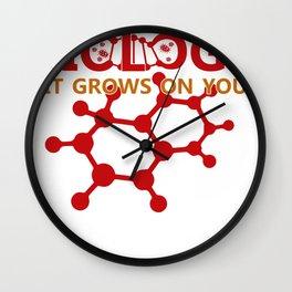 Biology Biologist Nature Gift Botany Funny Wall Clock