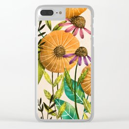 You are My Sunshine- Illustration Clear iPhone Case