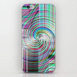 Variegated Frosted Glass iPhone Skin