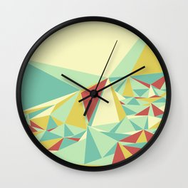 Facet - Bloom Tone Wall Clock