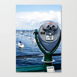 a view of Monterey Canvas Print