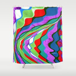 I Dream in Colors Shower Curtain