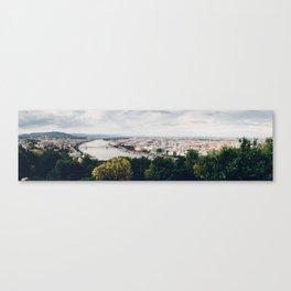 Budapest Pano Canvas Print