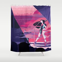 Haitus Kaiyote Shower Curtain