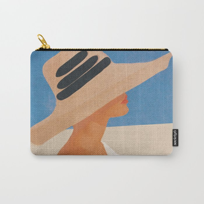Summer Hat Carry-All Pouch