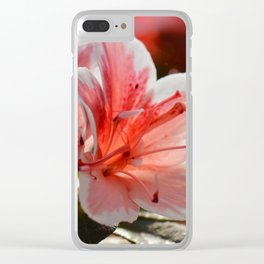 Love flowers 227 Clear iPhone Case