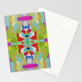Abstract buterfly Stationery Cards