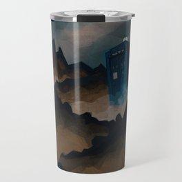 TARDIS in Trenzalore Travel Mug