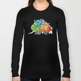 Opossum Rainbow Babies Long Sleeve T-shirt