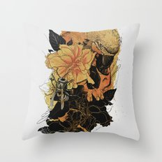 Pollination Fire Throw Pillow