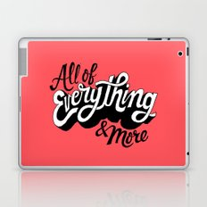 All of Everything  Laptop & iPad Skin