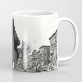 New Orleans Godzilla Attack 1908 Coffee Mug
