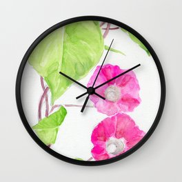 Love In The Morning Wall Clock