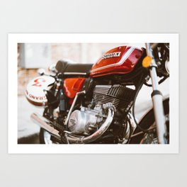 Cafe Racer in New Orleans Art Print