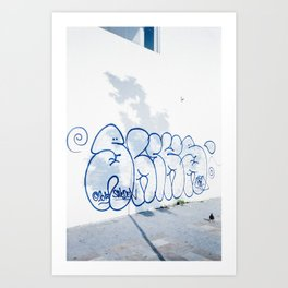 Sliks Art Print