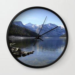 Como Lake Wall Clock
