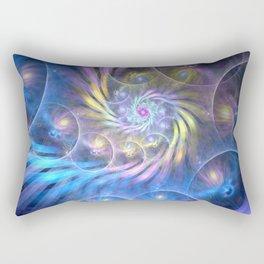 fractal: spiralling soul Rectangular Pillow