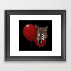 Red Decoy Framed Art Print