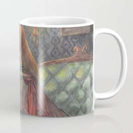 Witch and her Cats Coffee Mug