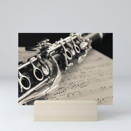 Clarinet Mini Art Print