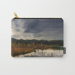 utumn lake forest nature Carry-All Pouch