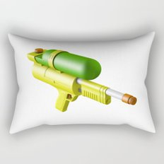 Water Gun Rectangular Pillow