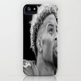 Odell Beckham Jr. Drawing iPhone Case