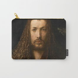 Self-Portrait at the Age of Twenty Eight by Albrecht Dürer Carry-All Pouch