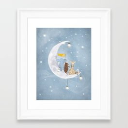 starlight wishes with you Framed Art Print