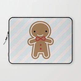 Cookie Cute Gingerbread Man Laptop Sleeve