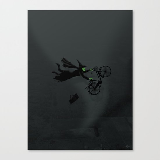 Wicked Bike Trick Canvas Print