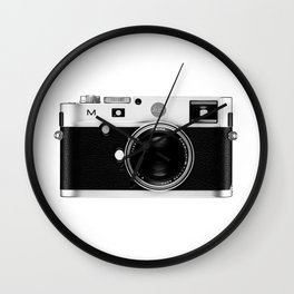 leica camera Wall Clock
