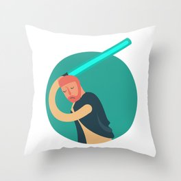 SIDE BY SIDE - LIGHT SIDE Throw Pillow