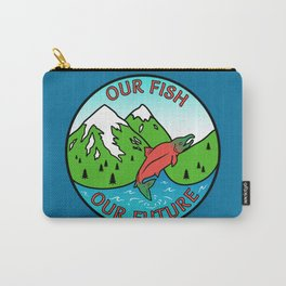 Stop Pebble Mine Carry-All Pouch