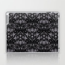 Bats And Beasts - Black and Gray  Laptop & iPad Skin