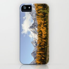 Larch Valley iPhone Case
