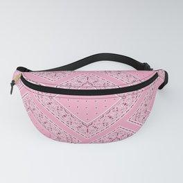 Pink Bandana Diamond Patches  Fanny Pack