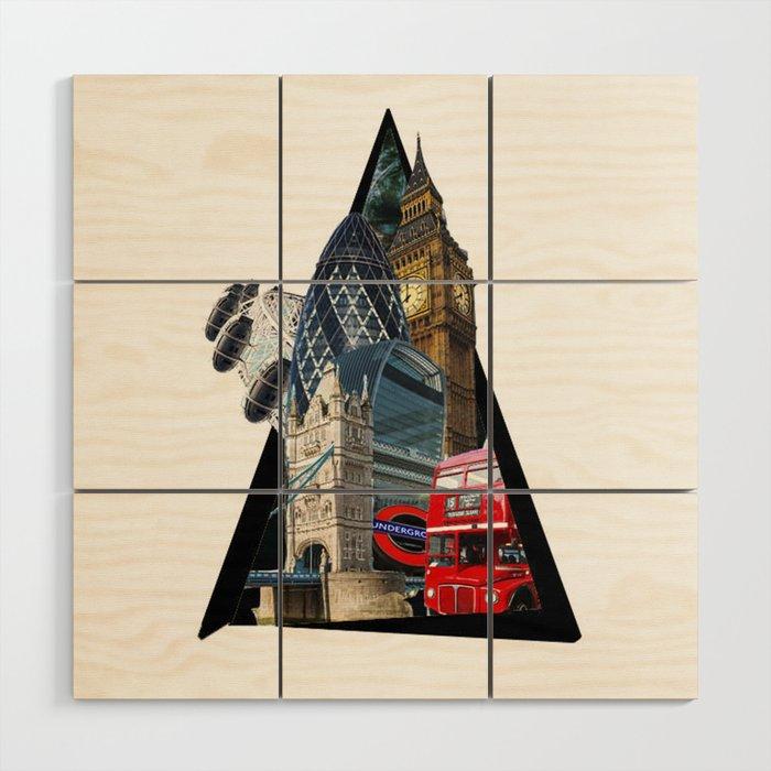 London UK Symbol ArtWork Cities Wood Wall Art