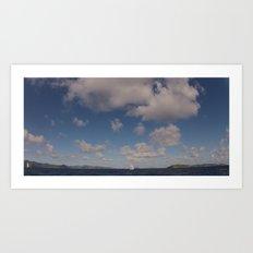 Ocean, Sky, Atlantic Art Print