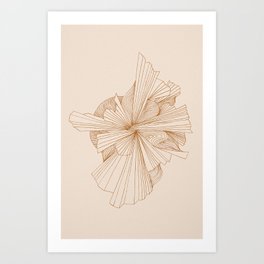 Abstract Botanics Art Print