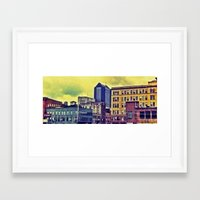ohio Framed Art Prints featuring Ohio by David Lowell