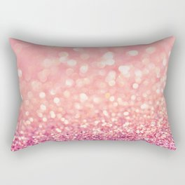 Blush Deeply Rectangular Pillow