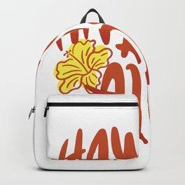 Hawaiian quota Backpack