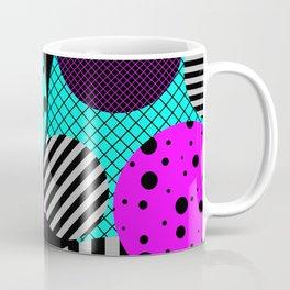 Circles, Bubbles And Stripes Coffee Mug