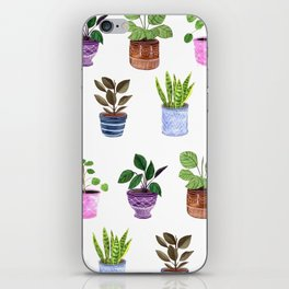 Houseplants 2.0 iPhone Skin