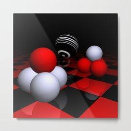 ball pyramids -2- Metal Print