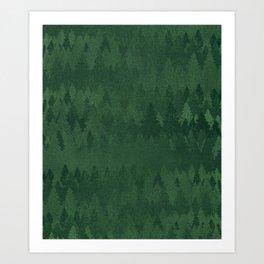 TREE L/NE Art Print