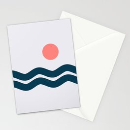 Nautical 06 No.1 Stationery Cards