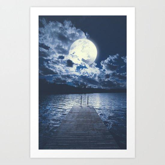 Bottomless dreams Art Print